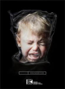 ©Advertising campaign CONAC Chilean Corporation Against Cancer (Smoking is murder)